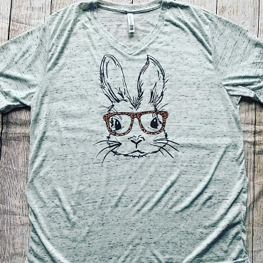 Bunny with Glasses shirt