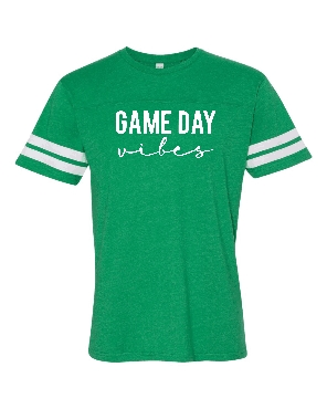 Game day Vibes tee shipping applies