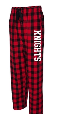 Knights buffalo plaid boxercraft PJ pants  Will be delivered to SOS