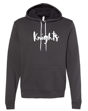 Knights script hoodie     Will be delivered to SOS