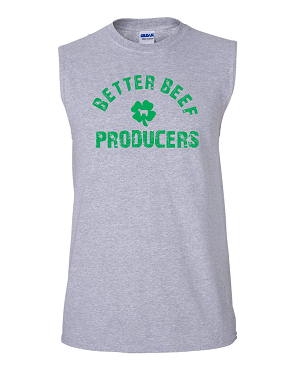 Better Beef sleeveless tee ( free shipping to club)