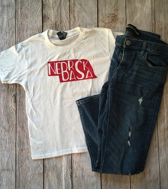 Nebraska youth shirt