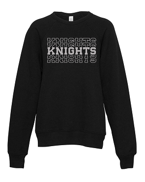 Knight stacked black youth crew