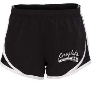 Knights youth running shorts