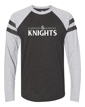 Adult long sleeve game day tee ( these run large please size accordingly most people size down one size)