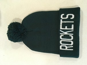 Rockets stocking cap 12 in
