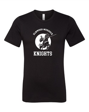 Bella and Canvas  Knights throw back design