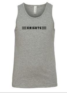 Knights Unisex youth tank bella